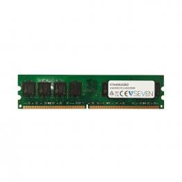 Memoria Ram V7 - 2 Gb (1 X 2 Gb) - Ddr2 Sdram - 800 Mhz Ddr2-800/pc2-6400 - Sin Búfer - Cl6 - 240-Clavijas - Dimm