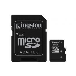 Memoria Sd Micro 8Gb Kingston Con un Adaptador A Sd  Sdc4/8Gb