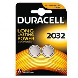 Pack 2 Pilas de Boton Duracell Cr2032 - 3V