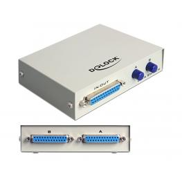 Parallel Switch Sub-D 25 Pin 2-Port Manual