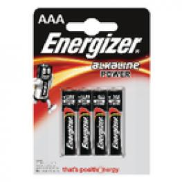 Pila Alcalina Aaa 1.5 V Power 4-Blíster