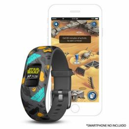 Pulsera Cuantificadora Infantil Garmin Vivofit Jr 2 la Resistencia - Pantalla Color - Bt - Batería Hasta 1 Año - Comp. Android/iphone - Resistente