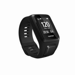 Reloj Deportivo Con Gps Tomtom Spark 3 Cardio Negro - Pulsometro - Notificaciones - Resistente Al Agua - Varios Modos de Deportes - Talla Pequeña