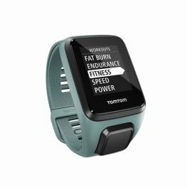 Reloj Deportivo Con Gps Tomtom Spark 3 Cardio+Music Aqua - Pulsometro - Notificaciones - Resistente Al Agua - Repr. Música - Talla Pequeña