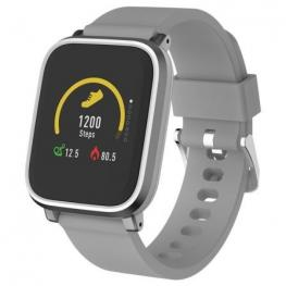 Reloj Inteligente Denver Sw-160 Grey - Bt - Pantalla 3.3Cm Ips - Sensor Frecuencia Cardiaca - Notificaciones - Ip67 - Compatible Android/ios