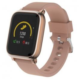 Reloj Inteligente Denver Sw-160 Rose - Bt - Pantalla 3.3Cm Ips - Sensor Frecuencia Cardiaca - Notificaciones - Ip67 - Compatible Android/ios