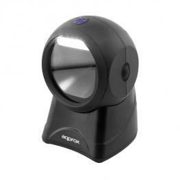 Scanner Codigo de Barras Sobremesa Approx Appls07Dk2D 1D/2D Bidireccional Multilínea Conexion Usb Color Negro