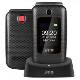 Spc Goliath Telefono Movil Bt Fm + Dock Negro