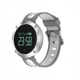"""Sport Watch Blanco y Gris · Pantalla 0.95"""" Oled · Bluetooth 4.0 · Lector de Pulsaciones · Tensiometro ·  Resistente Al Agua · Sensor Giroscopio 3 Ejes"""