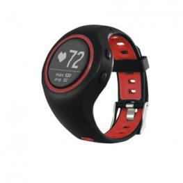 Sport Watch Gps, Negro / Rojo. Plan y Mapa de Ruta. Registro de Entrenamientos. Bt 4.1. Batería 280Mah. Resistente Al Agua Hasta 1M. Sensor de Frecuen
