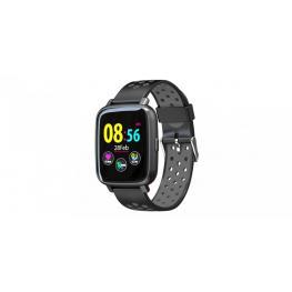 """Sport Watch Gris y Negro · Pantalla Ips 1.44"""" · Bluetooth 4.0 · Lector de Pulsaciones · Tensiometro ·  Resistente Al Agua Ip 67 · Sensor Giroscopio 3"""