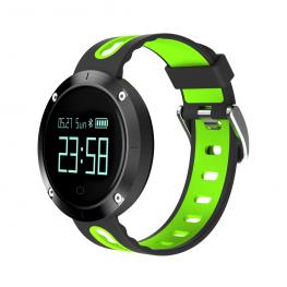 """Sport Watch Negro y Verde · Pantalla 0.95"""" Oled · Bluetooth 4.0 · Lector de Pulsaciones · Tensiometro ·  Resistente Al Agua · Sensor Giroscopio 3 Ejes"""