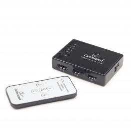 Switch 5X1 Hdmi, Audio y Video 3D Con Mando A Distancia