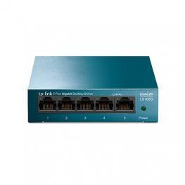 Switch No Gestionable Tp-Link Ls105G Litewave 5P Giga Sobremesa Carcasa Metal No Rack