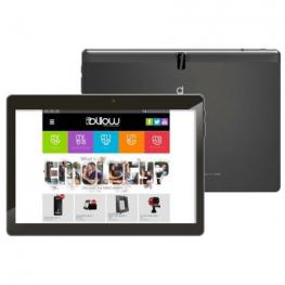 Tablet Negra 10.1 Quadcore 64Bits + Wifi + Bt + Gps + Radio, Gms Certified
