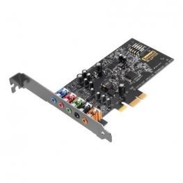 Tarjeta de Sonido Pcie Para Juegos Creative Sound Blaster Audigy Fx - Hasta 24-Bit/96Khz - Snr 106Db - 600Ohmios - Salida 5.1 - Sbx Pro Studio