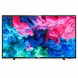 Tv Led Ultraplano Philips 55Pus6503 - 55/139Cm 4K Uhd 3840 X 2160 - Dvb-T/t2/t2-Hd/c/s/s2 - Smart Tv - Wifi - Altavoces 20W - 3Xhdmi - 2Xusb - Negro