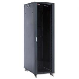 Wp Armario Rack Pie Rna Series 19 42U 600X1000Mm (Desmontado), Black