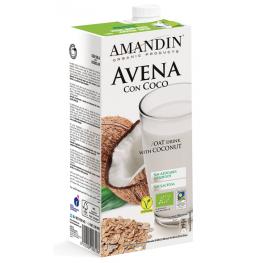 Bebida de Avena Con Coco