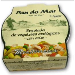 Ensalada Ecológica de Vegetales Con Atún