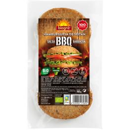 Hamburguesa de Seitán Bbq