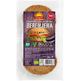 Hamburguesa de Seitán y Berenjena