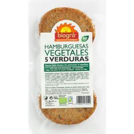 Hamburguesa Vegetal 5 Verduras