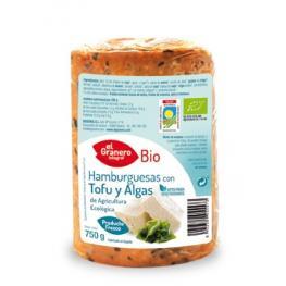 Hamburguesas Con Tofu Con Algas