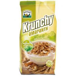 Krunchy de Amaranto-Espelta y Frutos Secos