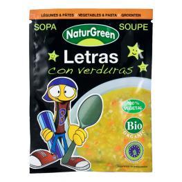 Sopa de Letras Con Verduras