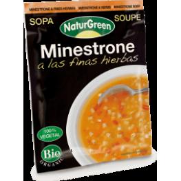 Sopa Minestrone A Las Finas Hierbas