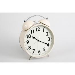 Reloj Despertador Cream 21,6X8,8X28 Cm