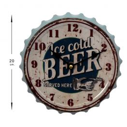 Reloj 20 Cm Ice Cold Beer