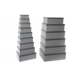 Caja Set 15 Carton 57X45X19 Rayas