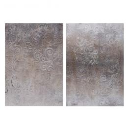 Pintura 2/m Crema-Marrón Lienzo 70 X 3 X 100 Cm