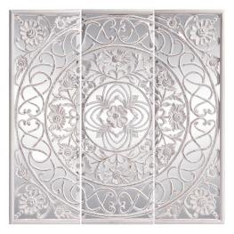 Mural - Talla Blanco Decapé Dm-Cristal 180 X 180 Cm