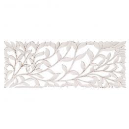 Mural - Talla Blanco Rozado Dm étnico 45 X 2 X 120 Cm