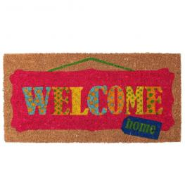 Felpudo welcome Multicolor 70 X 35 Cm