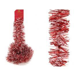 Mini Boa Rojo-Nieve Decoración Navidad 150 X 5 X 5 Cm