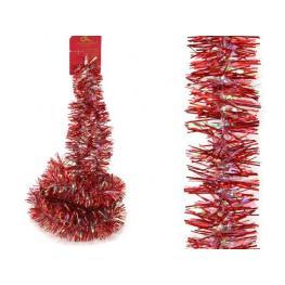 Mini Boa Rojo-Iris Decoración Navidad 150 X 5 X 5 Cm