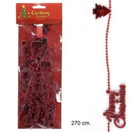 Tira árboles Plástico Rojo 270 X 2 X 0,20 Cm