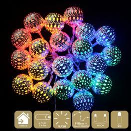 20 Luces Led Flash Multicolor