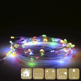 Micro-Led 100 Luces Metal Multicolor