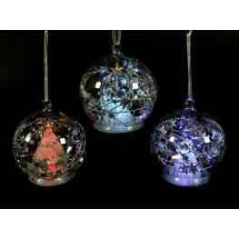 Bola Nacimiento Con Luz Cristal 3/m 10 X 10 X 11,50 Cm