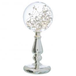 Lámpara Globo Cristal 12 X 11 X 28 Cm