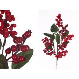 Rama Acebo Con Hojas Decoración Navidad 10 X 20 X 63 Cm