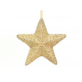 Estrella Brillantes Champán 22 X 6 X 22 Cm