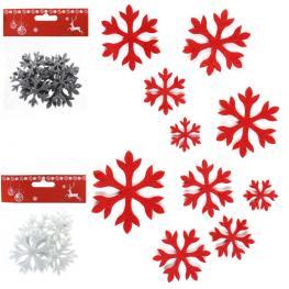 S/10 Adhesivo Estrella Tejido 3/c 6 X 0,10 X 6 Cm