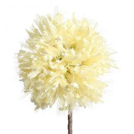 Flor Crema Foam Decoración 86 Cm