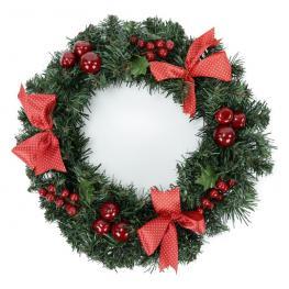 Corona Lazos Decoración Navidad 30 X 30 X 9 Cm
